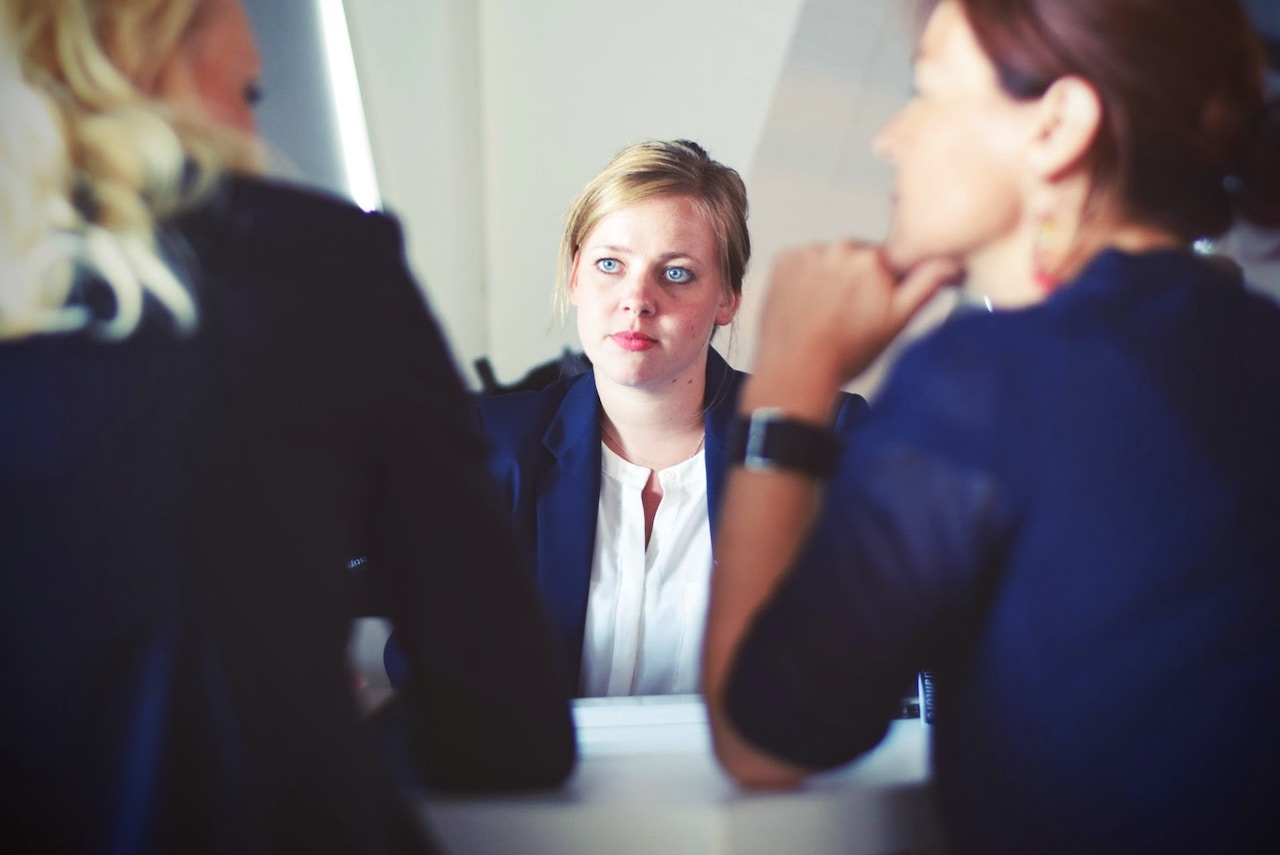 employers using hiring tips during interview with candidate